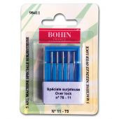 Aiguilles surjeteuse - Bohin - 5 aiguilles over lock n°11-75