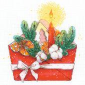 Kit point de croix - Riolis - Lettre de la nouvelle année