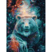 Kit point de croix - Riolis - Le grand ours