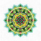 Kit point de croix - Riolis - Mandala - Connaissance de soi