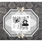 Fiche Point de Croix - Isabelle Haccourt Vautier - A la mode de Paris