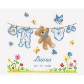 Kit point de croix - Vervaco - Ours de naissance