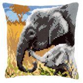 Kit de coussin gros trous - Vervaco - Amour d'éléphants