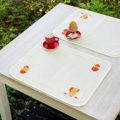 Kit de set de table à broder - Vervaco - Joyeuses pâques