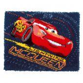 Kit de tapis point noué - Vervaco - Lightning McQueen