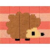 Kit de canevas pour enfant - Vervaco - Hérisson