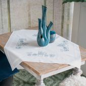 Kit de nappe à broder - Vervaco - Plantes d'intérieur