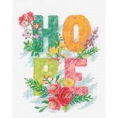 Kit point de croix - Vervaco - Hope