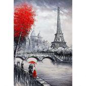 Kit de broderie Diamant - Wizardi - Tour Eiffel