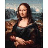Kit de peinture par numéro - Wizardi - Mona Lisa