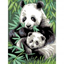 Canevas Pénélope  - Royal Paris - Panda