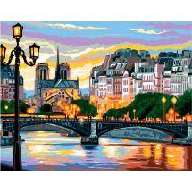 Canevas Pénélope  - Royal Paris - Le pont des Arts