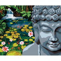 Canevas Pénélope  - Margot de Paris - Le bassin de Bouddha