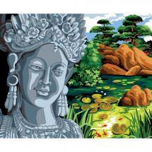 Canevas Pénélope  - Margot de Paris - Le jardin de la déesse