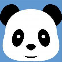 Kit de canevas pour enfant - Margot de Paris - Panda