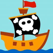 Kit de canevas pour enfant - Margot de Paris - Pirate