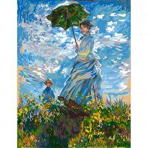 Canevas Pénélope  - Margot de Paris - La femme à l'ombrelle