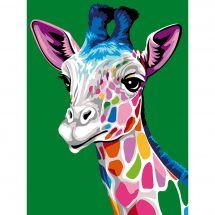 Canevas Pénélope  - Margot de Paris - Les taches de la girafe