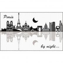 Kit point de croix - Marie Coeur - Paris By Night