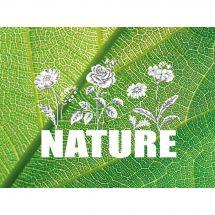 Kit point de croix - Marie Coeur - Nature (fleurs)