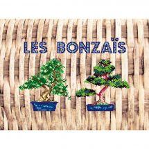 Kit point de croix - Marie Coeur - Les bonsais