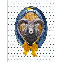 Kit point de croix - Marie Coeur - Le mouflon