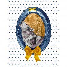 Kit point de croix - Marie Coeur - Le loup