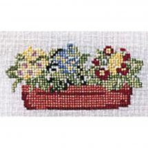 Kit point de croix - Princesse - La jardinière