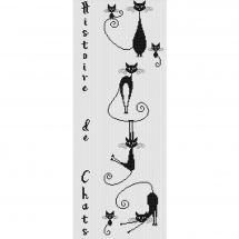 Kit point de croix - Princesse - Histoire de chats A