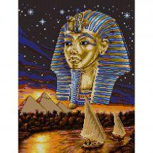 Kit point de croix - Marie Coeur - L'or des pharaons