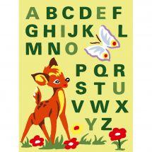 Kit de canevas pour enfant - Luc Créations - Printemps