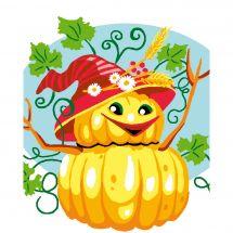 Kit de canevas pour enfant - Luc Créations - Halloween