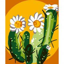 Kit de canevas pour enfant - Luc Créations - Cactus