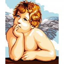 Kit de canevas pour enfant - Luc Créations - Ange