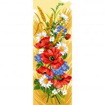 Canevas Pénélope  - Luc Créations - Fleurs des champs