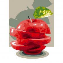 Canevas Pénélope  - Luc Créations - La pomme
