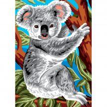 Canevas Pénélope  - Luc Créations - Koala