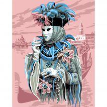 Canevas Pénélope  - Luc Créations - Carnaval à Venise
