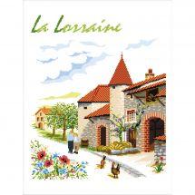 Canevas Pénélope  - Luc Créations - La Lorraine