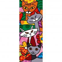Canevas Pénélope  - Margot de Paris - Color cats