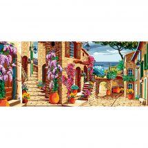 Canevas Pénélope  - Luc Créations - Village provençal