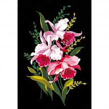 Canevas Pénélope  - Margot de Paris - Les orchidées