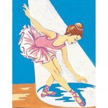 Kit de canevas pour enfant - Margot de Paris - La danseuse