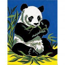 Kit de canevas pour enfant - Margot de Paris - Le panda