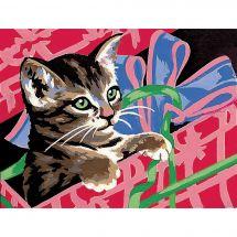 Kit de canevas pour enfant - Margot de Paris - Le chaton