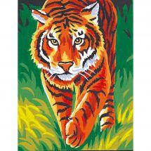 Kit de canevas pour enfant - Margot de Paris - Le tigre