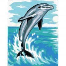 Kit de canevas pour enfant - Margot de Paris - Le dauphin