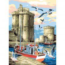 Canevas Pénélope  - SEG de Paris - La Rochelle