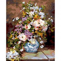 Canevas Pénélope  - SEG de Paris - Pierre Auguste Renoir le bouquet