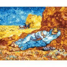 Canevas Pénélope  - SEG de Paris - La méridienne d'après Van Gogh